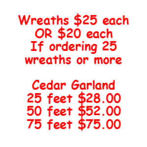 Wreath Pricing