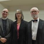 Rev. John Forman, Danielle & Brian Butz